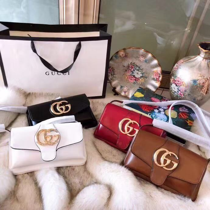 GUCCI Arli Small Shoulder Bag Style 550129 0V10G 1000 🎁 FREE Gift Box 421f83e1bfbd3