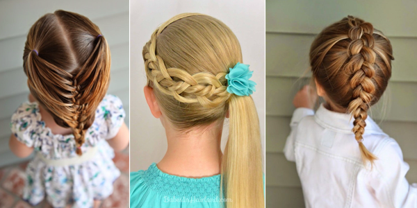 Easy Hairstyles For Kids!!! AboutWomanBeauty Com