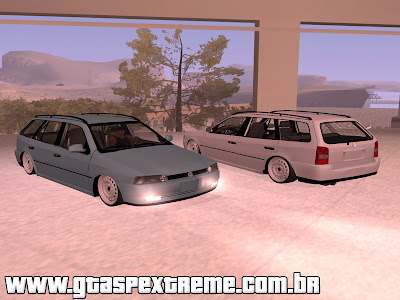 Volkswagen Parati G2 FIXA Rodas de Ferro para GTA San Andreas