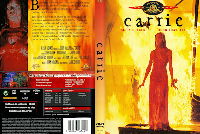 Carátula dvd: Carrie (1976)