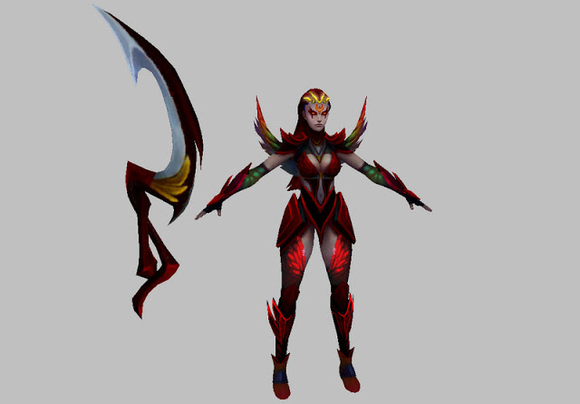 Mod Skin Diana Blood Moon V2
