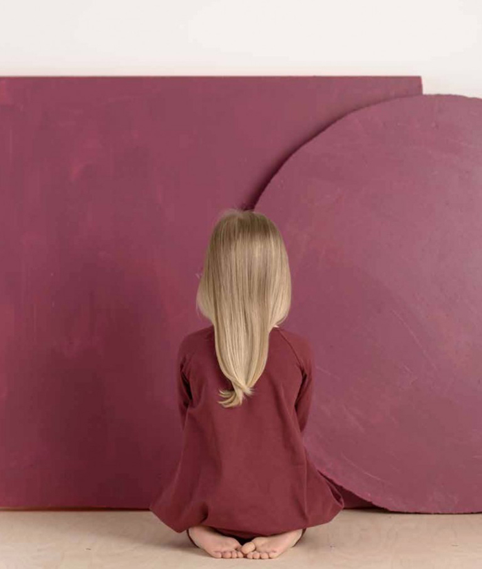 Monday inspiration - Marsala colour for children's rooms
