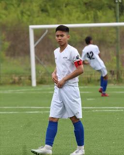 Emir Eranoto Dipasena pemain muda Indonesia yang menjadi Kapten diklub Italia