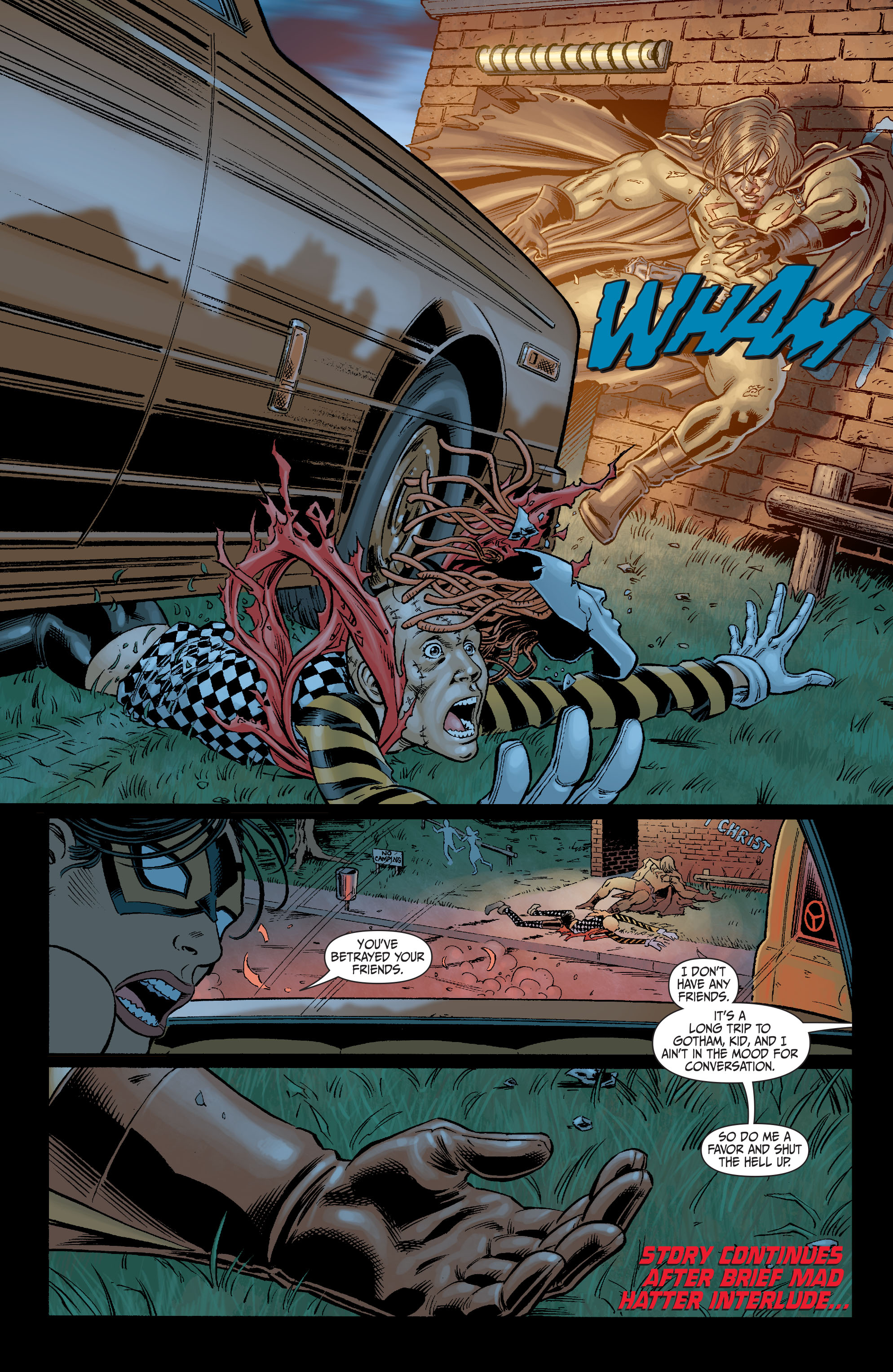 Read online Secret Six (2008) comic -  Issue #6 - 19