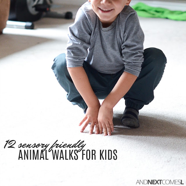 Animal walks for sensory input