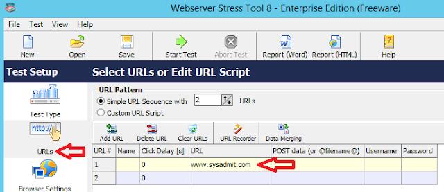 PRTG: Webserver Stress Tool - Parte 1