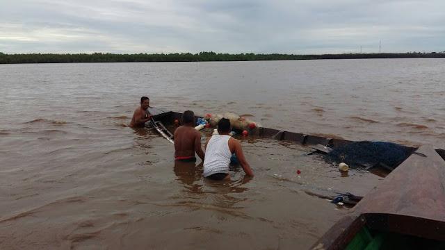Perahu korban ditemukan tim sar dan nelayan