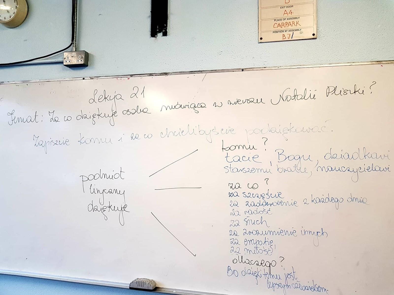 Szkoła Polska W Waterford Klasa 6 Język Polski 131018