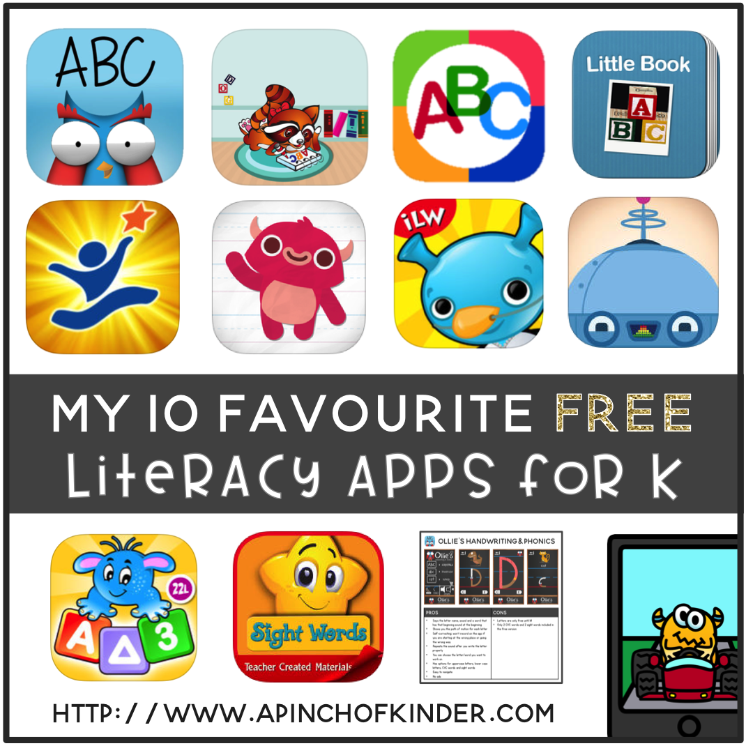 My 10 favourite free literacy apps for kindergarten a - Kinderapps gratis ...