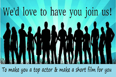 Join us to be a top actor
