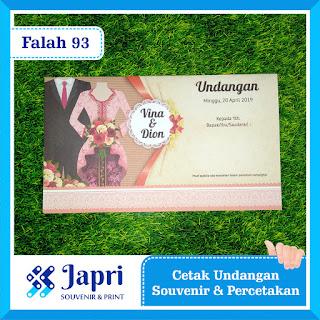 Cetak Undangan Pernikahan Blangko Falah 93