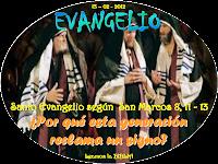 Resultado de imagen para EN aquel tiempo, se presentaron los fariseos y se pusieron a discutir con Jesús; para ponerlo a prueba, le pidieron un signo del cielo.