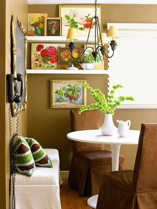 Dishfunctional Designs Create An Eclectic Gallery Wall