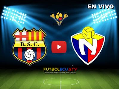 Resultado de imagen para barcelona SC vs El Nacional