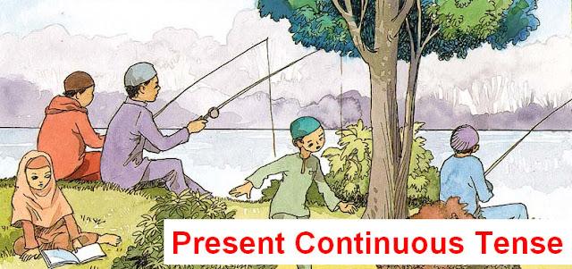 Pengertian Present Continuous Tense Beserta Contoh dan Terjemahannya
