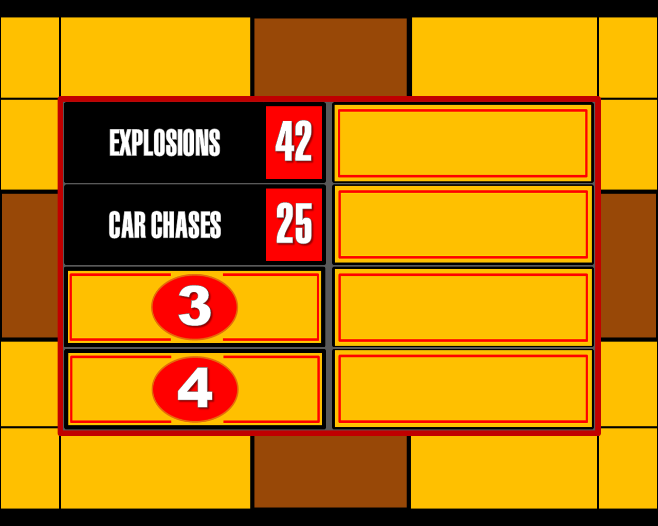 playmaker templates - family feud scoreboard the image kid