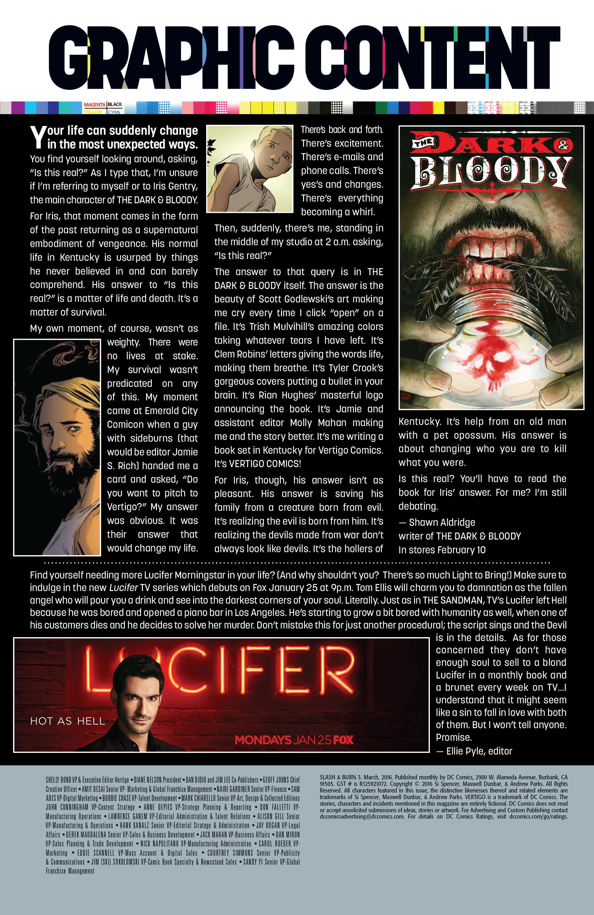 Read online Slash & Burn comic -  Issue #3 - 24
