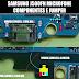 Microfone Samsung J5 J500 FN - Componentes e locais de Jumper