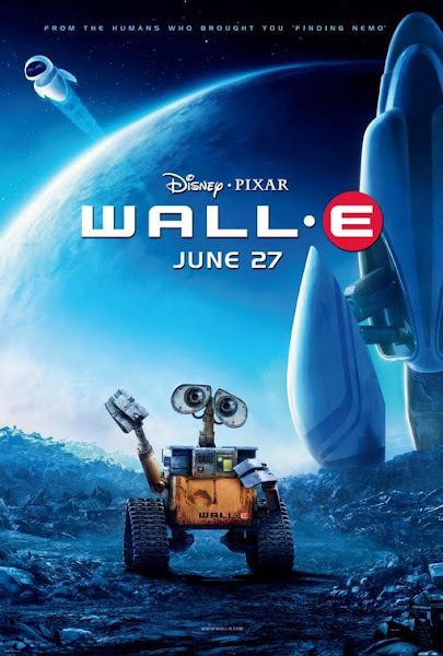 Poster Of WALL-E 2008 720p Hindi BRRip Dual Audio Full Movie Download