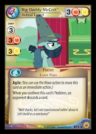 My Little Pony Big Daddy McColt, Animal Expert Friends Forever CCG Card