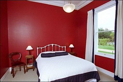 Dise o de dormitorios de color rojo decorar tu habitaci n - Ideas para pintar habitaciones ...