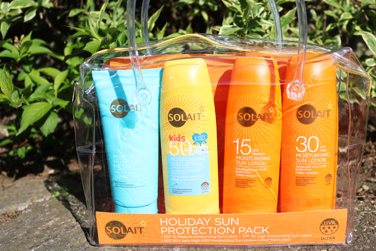 Solait Holiday Sun Protection Pack review