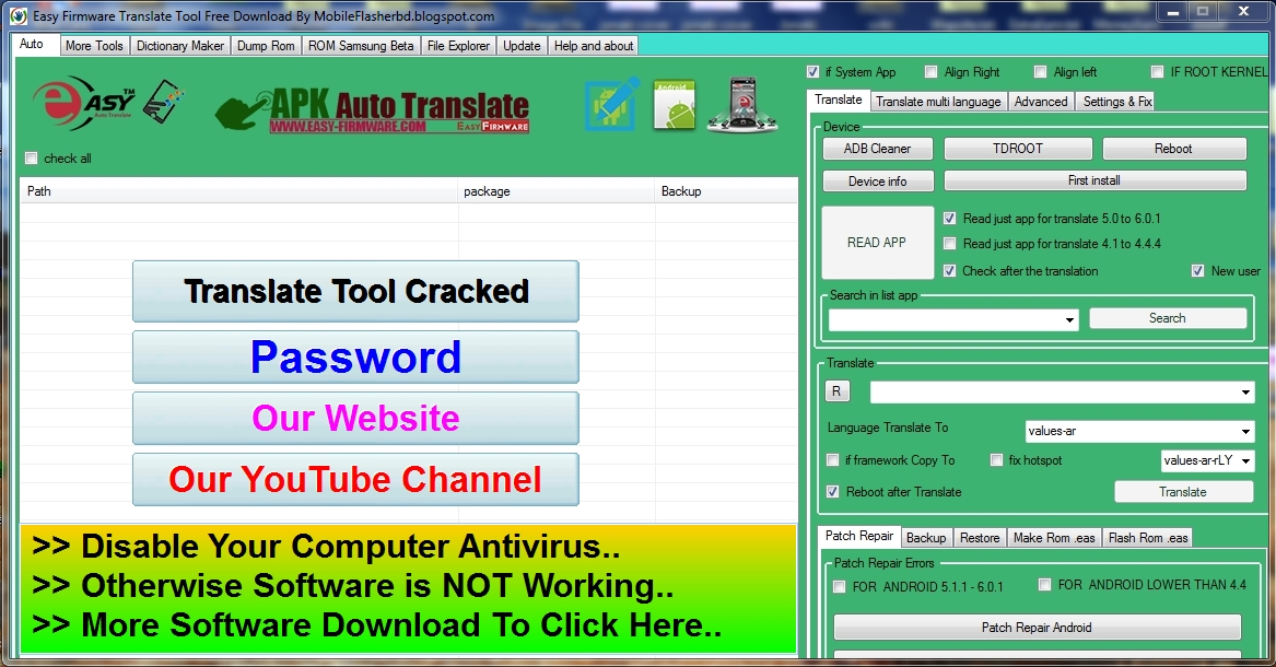 Easy Firmware Translate Tool Cracked With Keygen Free Download By