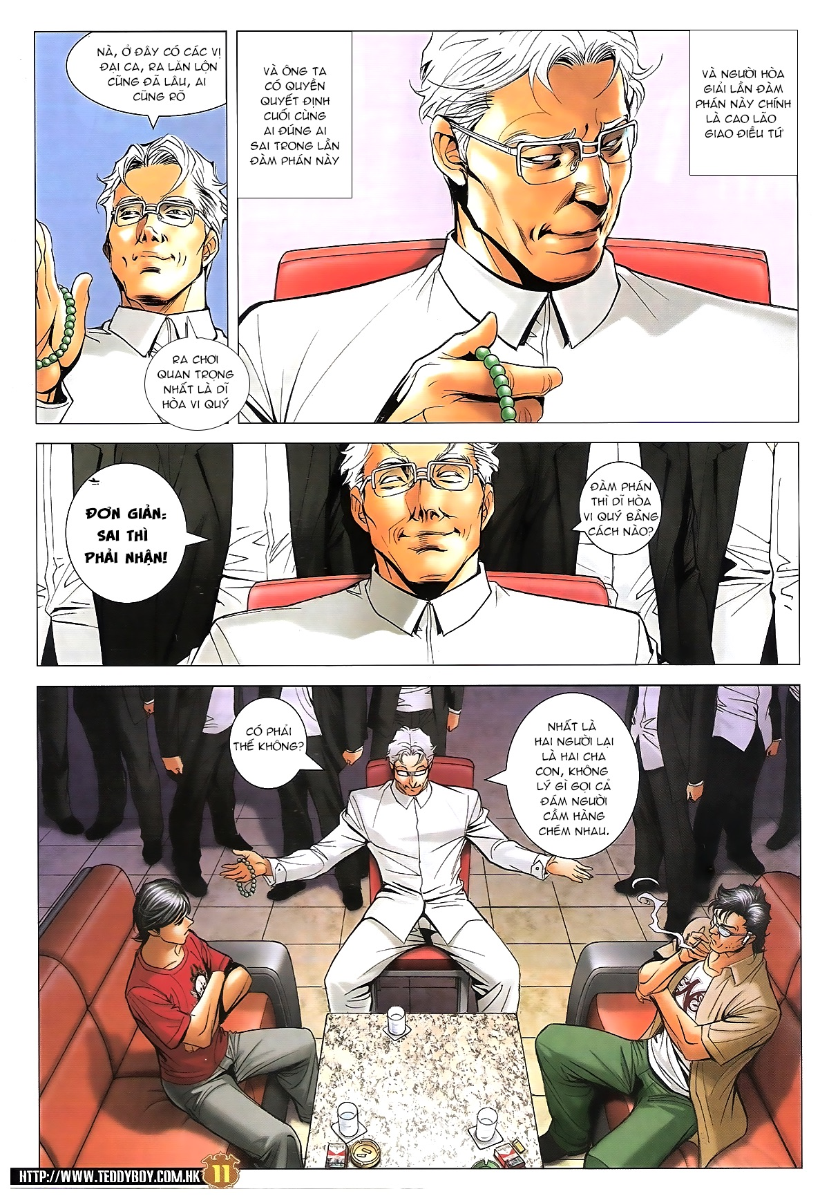 Người Trong Giang Hồ - Chapter 1620: Đàm phán bất thường - Pic 10