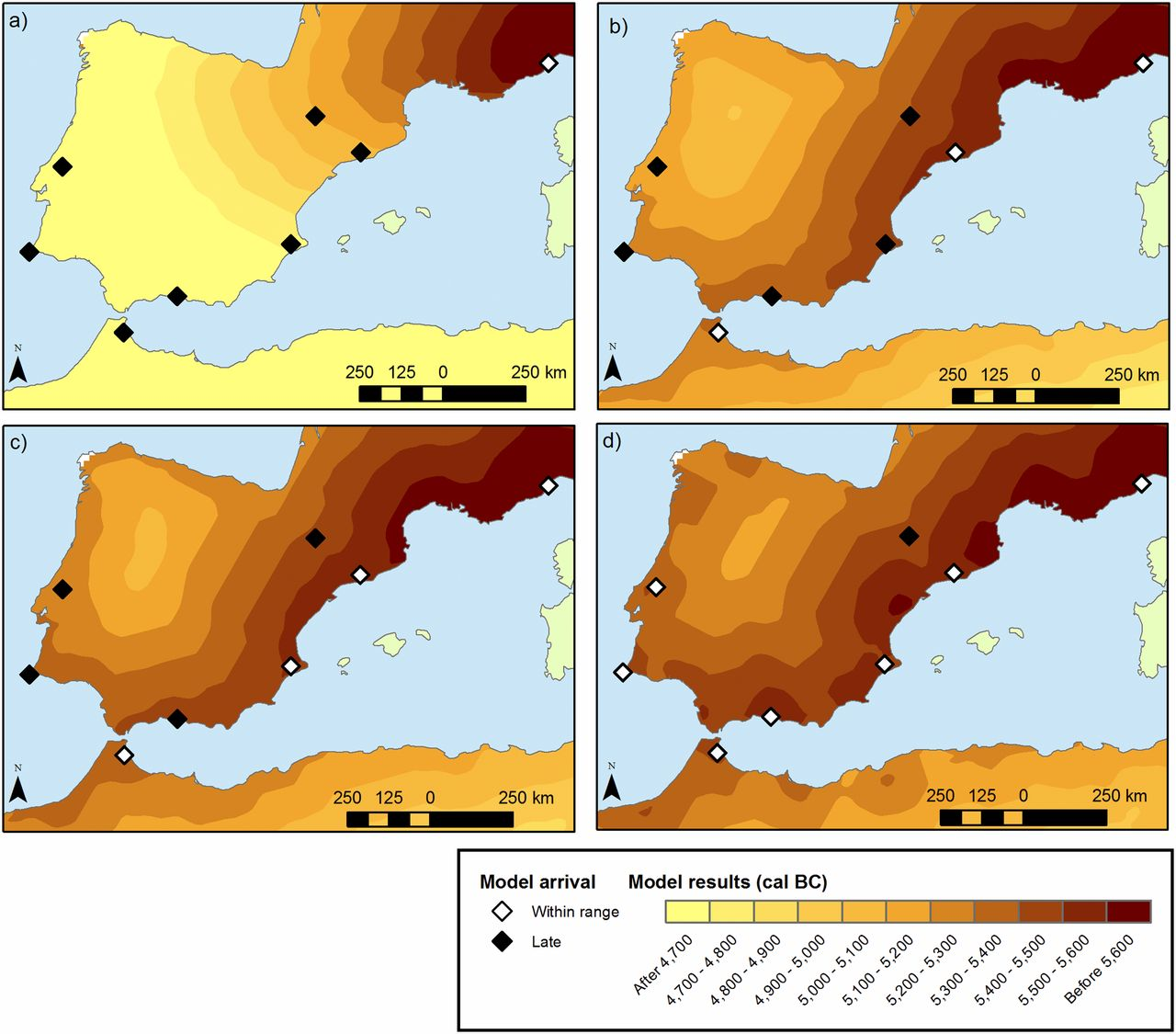 Neolithic spread eight times faster in Mediterranean than rest of Europe