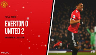 Video Gol Everton vs Manchester United 0-2 Liga Inggris 1 Januari 2018