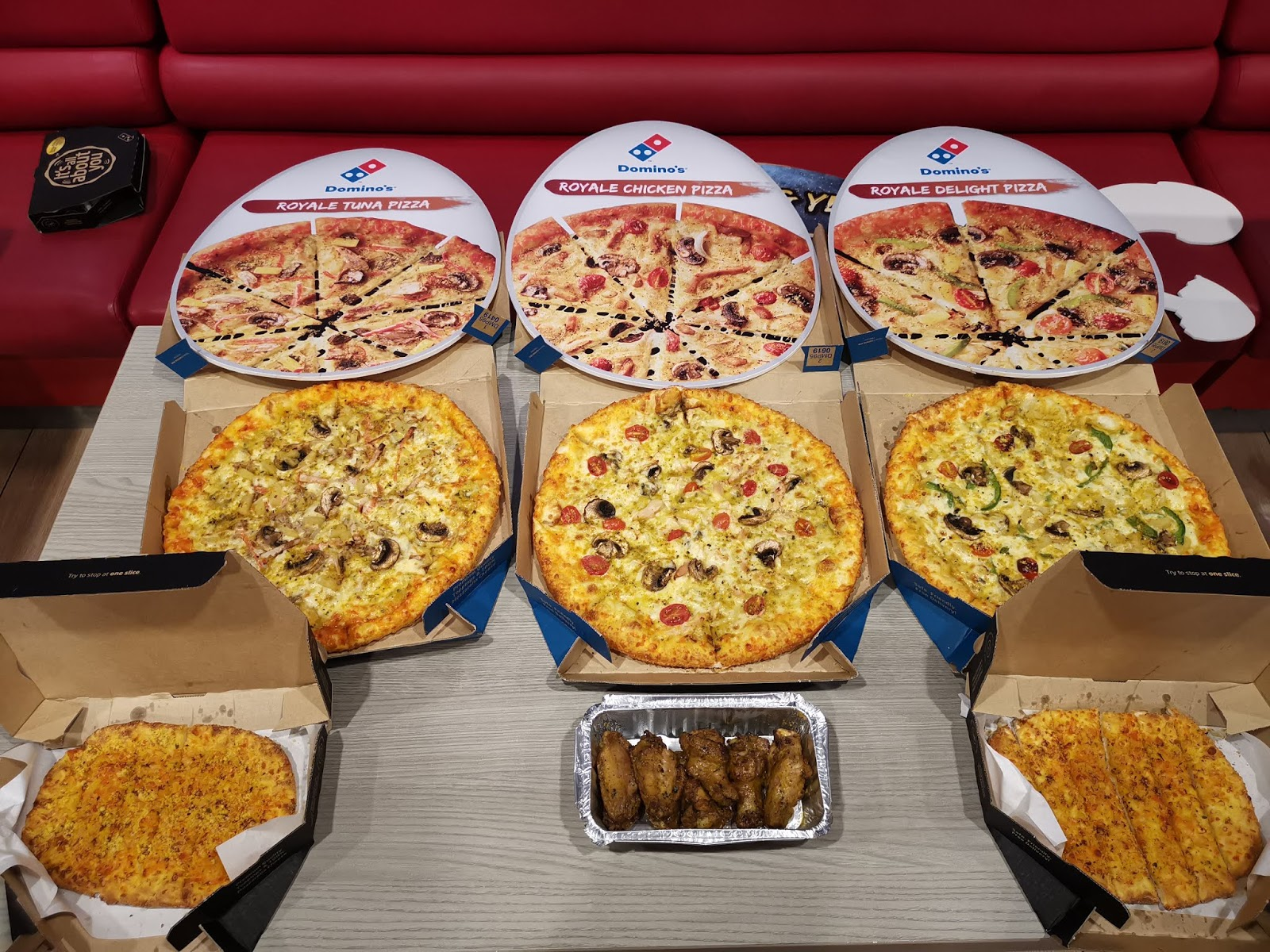 Domino S Pizza Presents An Egg Citing Experience With The All New