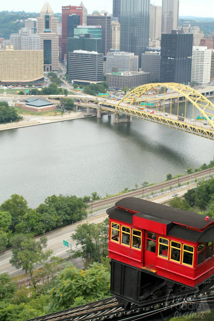 One of the best ways to get from Pittsburgh up to Mount Washington is by way of the Duquesne Incline. #kidsburgh #lovepgh