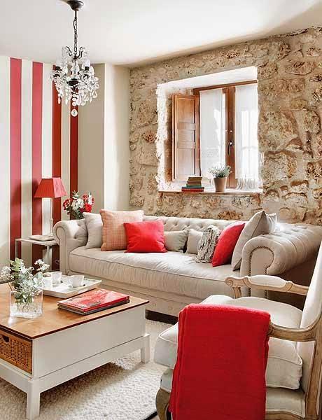 Amenajare rustică într-un apartament de numai 55 m²