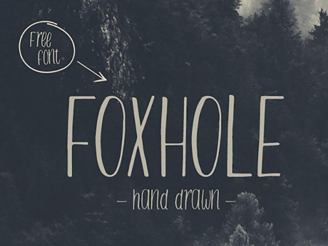 Foxhole_Free_Font