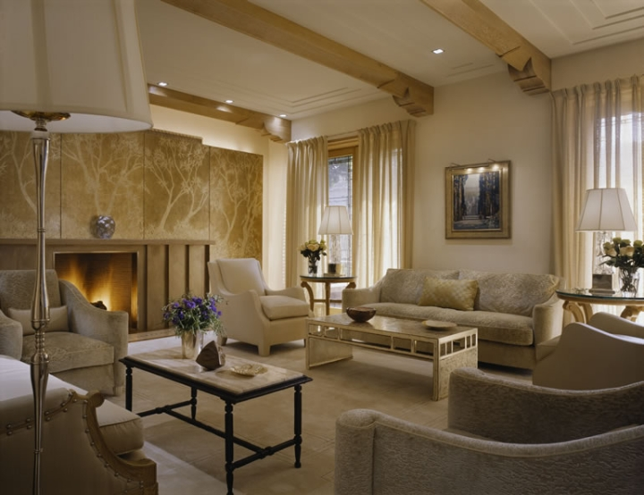 Hermosas fotos de salas modernas bien iluminadas ideas for Decoracion salas clasicas elegantes