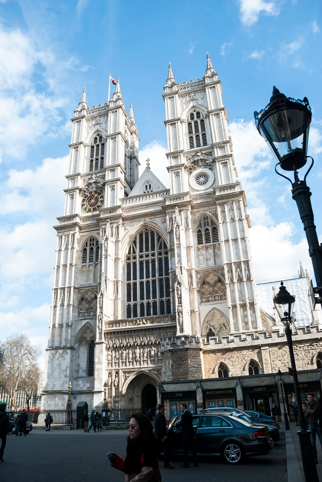 Een ingang van Westminster Abbey