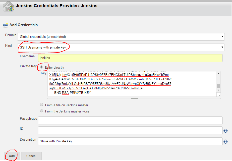 ssh offering public key id_rsa