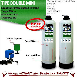 Filter Air Dr.Toya Tipe Double Mini