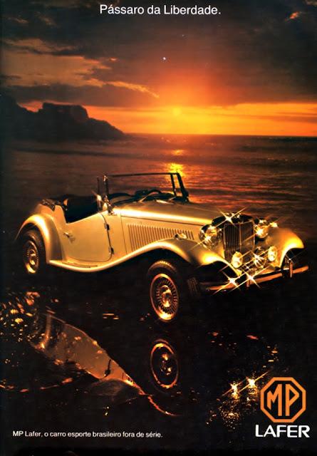 O automóvel MP Lafer encantou gerações de entusiastas em vários países desde seu lançamento em 1974.