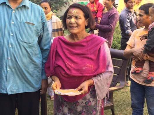 Draupadi Ghimire conferred Padma Shri 2019