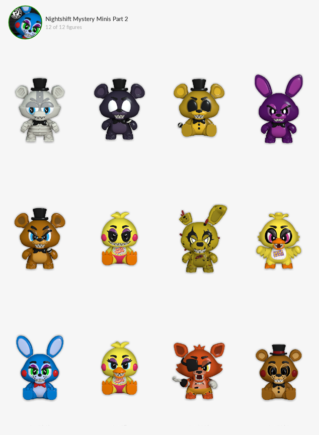 Fnaf 6 Mystery Mini Concepts Not Official These Are Just Fan