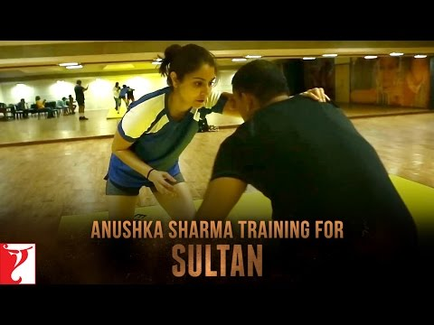 Anushka Sharma Sultan First Look