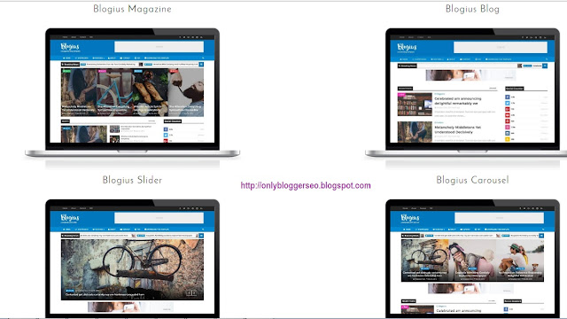 Blogius SEO Friendly and Responsive Blogger template