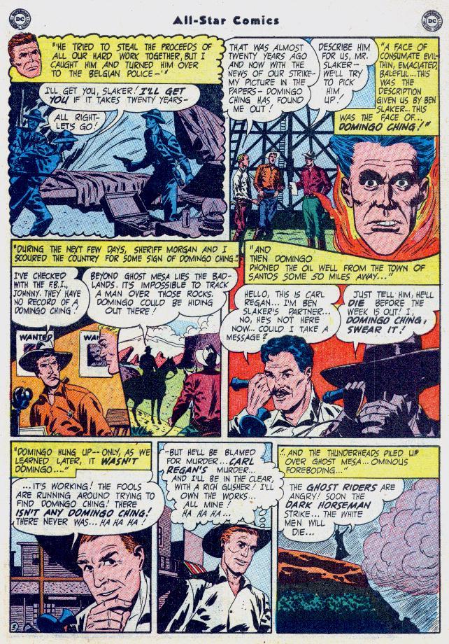 Read online All-Star Comics comic -  Issue #54 - 45