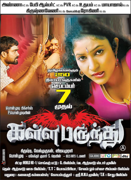 Kalla Parundhu Tamil Movie Latest Hot Posters