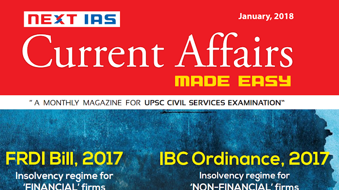 MADE EASY CURRENT AFFAIRS JANUARY 2018 [ENGLISH]