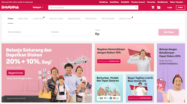 bukalapak e commerce indonesia 2017