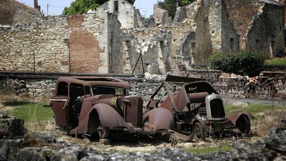 Terkedilmiş Şehir : Oradour-sur-Glane