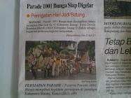 Parade 1001 Bunga HUT Kabupaten Batang