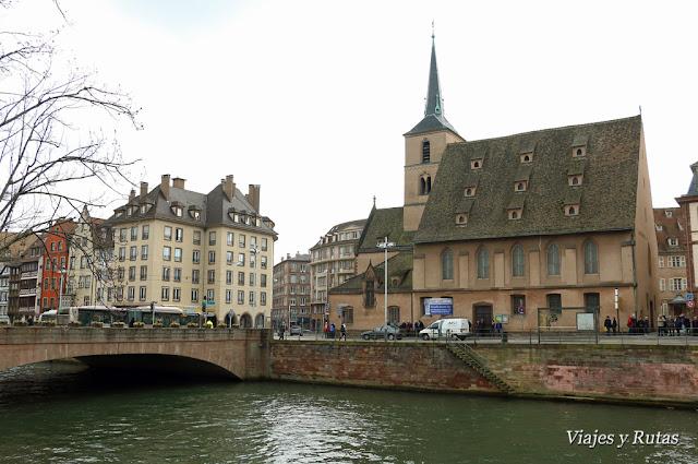 Puente e Iglesia de San Nicolás, Estrasburgo